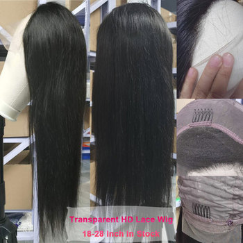 Glueless Front Full Lace Wig Wholesale Virgin 100% Cheap Short Brazilian HD Natural Full Lace Human Hair Wig for Black Women