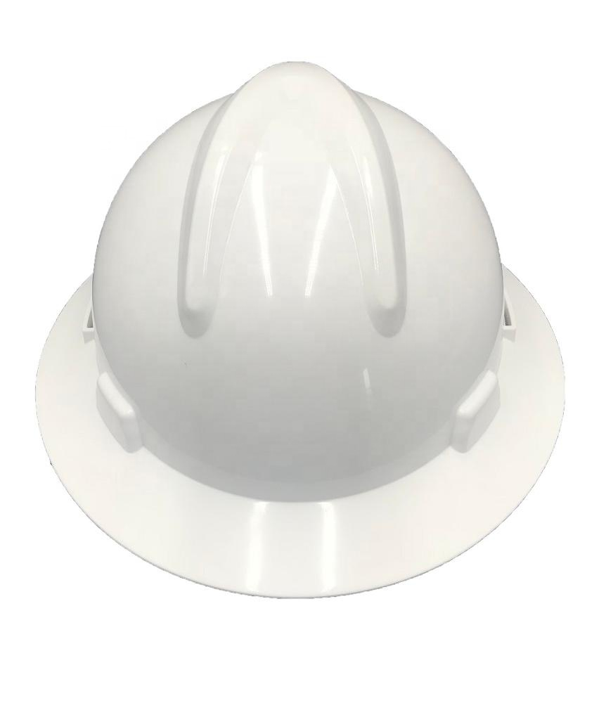 D026 popular ABS protective full brim hard hat