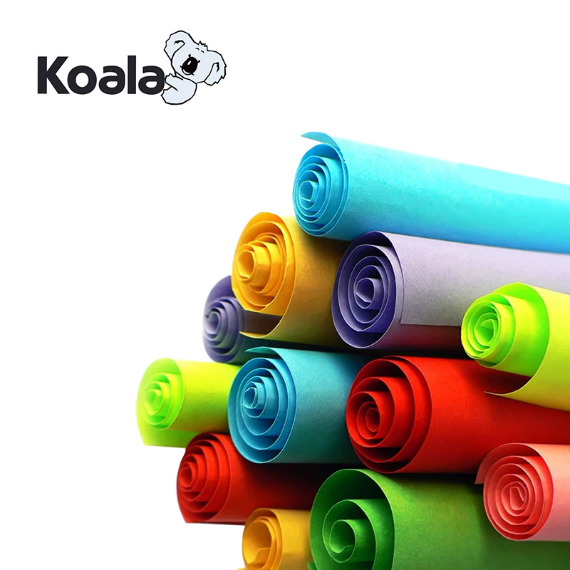 Koala High Stiffness 80g color laser copy paper A4 *100sheets  for Color Printing & duplicate