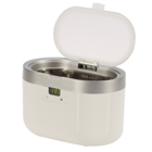 Small digital stainless steel portable dental ultrasonic cleaner