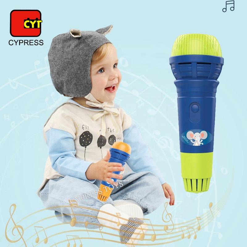 Strumento musicale Del Bambino Microfono Giocattoli di Plastica Per I Bambini
