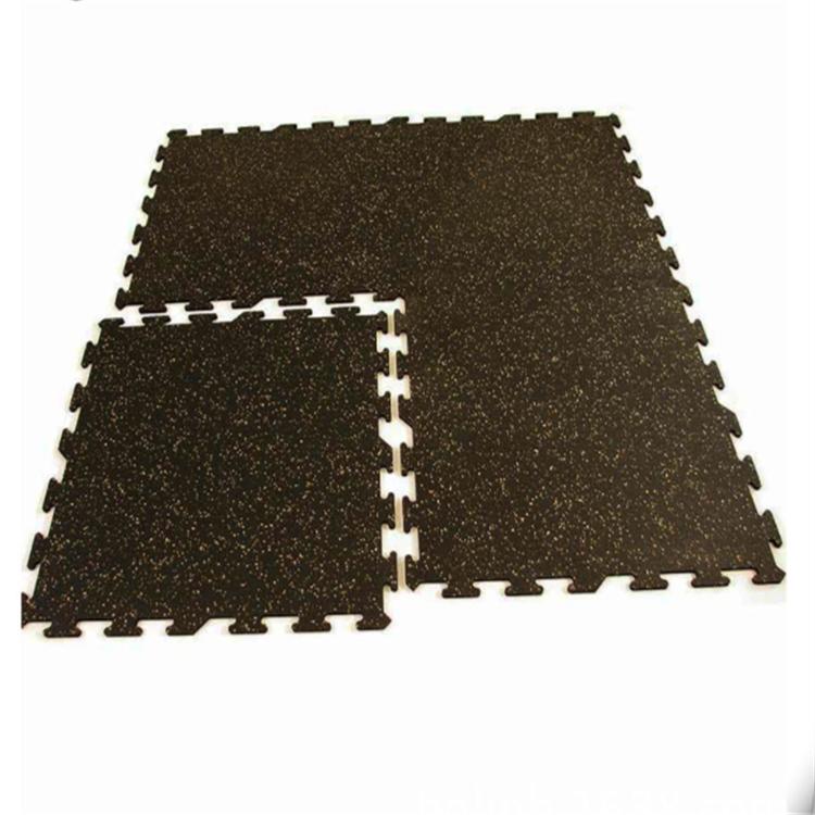Cross Fitness gym interlock rubber tile gym rubber floor roll