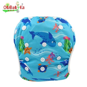 Professional baby reusable swimming diapers