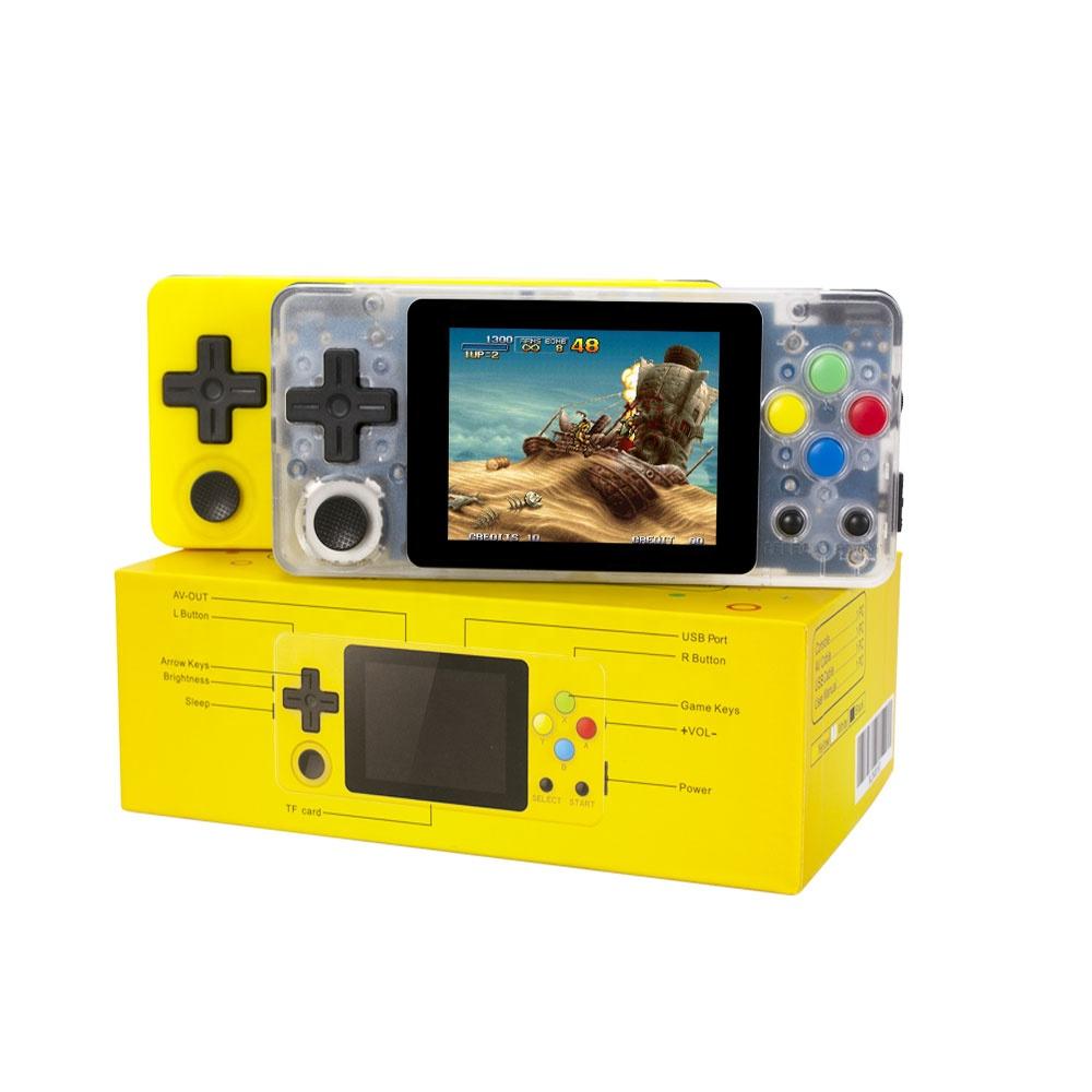 WOLSEN 64 Bit LDK Game Emulator Console video game emulator 2.6 inch portable handheld game system opening source 4000 games фото
