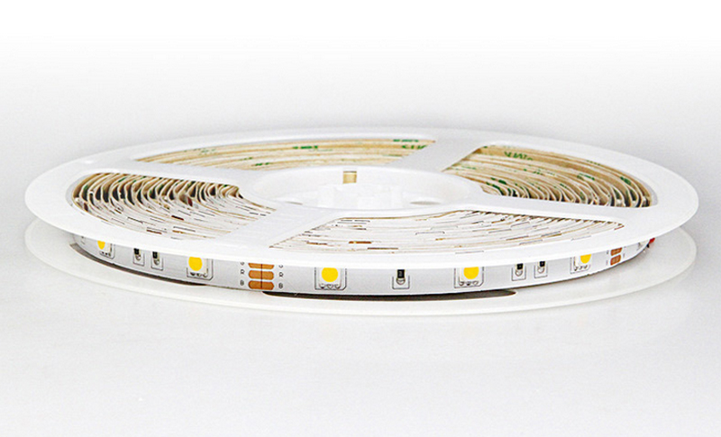 Warm White LED Strip Lights Kit 3000K Super Brightness Dimmable 150 SMD5050 LEDs IP65 Waterproof 12v LED Light Strip