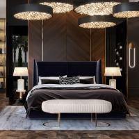 Hotel Furniture for Custom-Made Bedroom Set