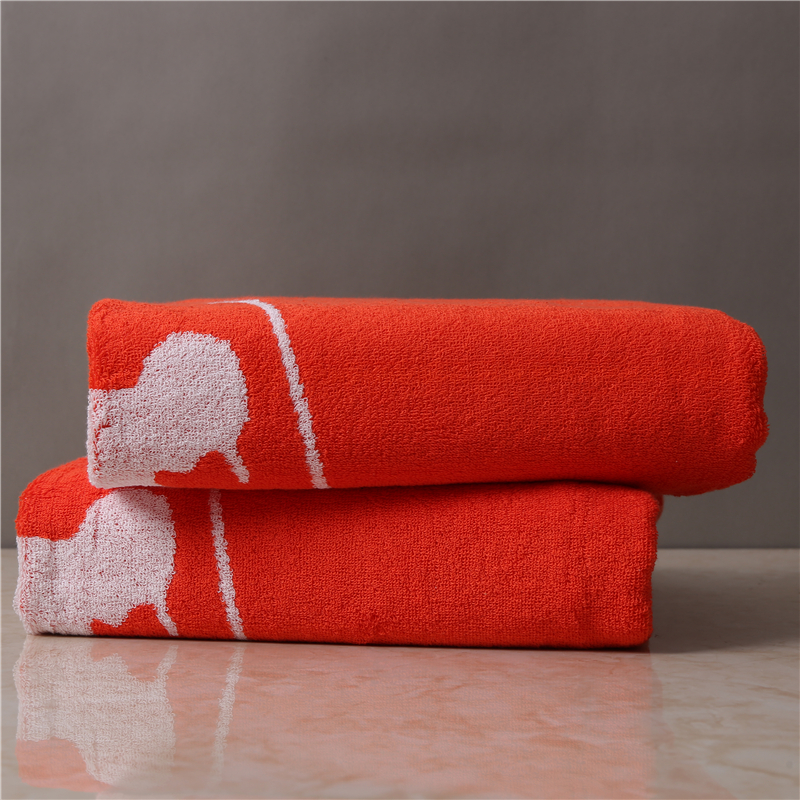 100% combed cotton bath towels excellent absorbency dobby striping thick bath towel