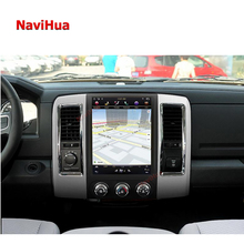 Navihua android tesla screen car stereo lettore dvd PER Dodge Ram radio multimedia bluetooth sistema audio car video gps