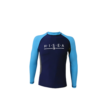 Swimming Surfing Wetsuit Jacket Long Sleeve Lycra Wetsuits Top for Men