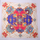 Fashion style beautiful shiny double dupion printed 100% silk shawl hijab scarves