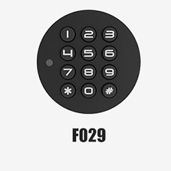 Mudah Menginstal Sidik Jari Biometrik Mini Smart Lock untuk Laci