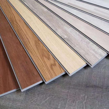 home decoration materials wooden color pvc flooring interlock