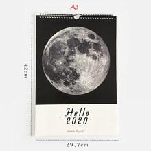 Здравствуйте 2020 лунный календарь, чтобы сделать список, повестка дня, Настенное подвесное оформление календарей, ежедневный планировщик, о...(Китай)