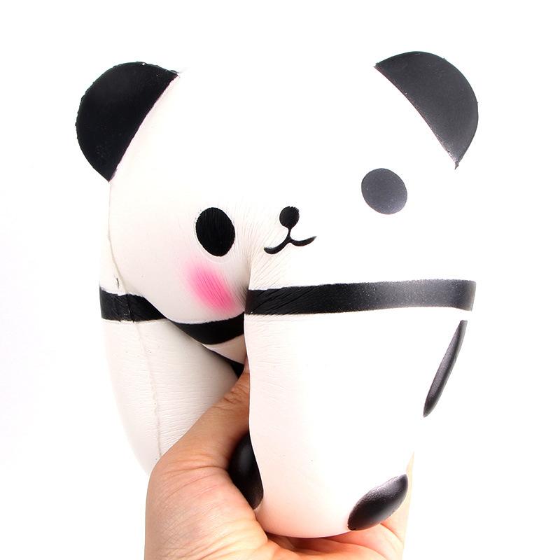 Amazon hot sale jumbo panda squishy slow rising toy custom