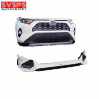 SVSPS parts high quality new and high design TRD facelift Front and Rear bumper Body kit For Toyota Rav4 2020