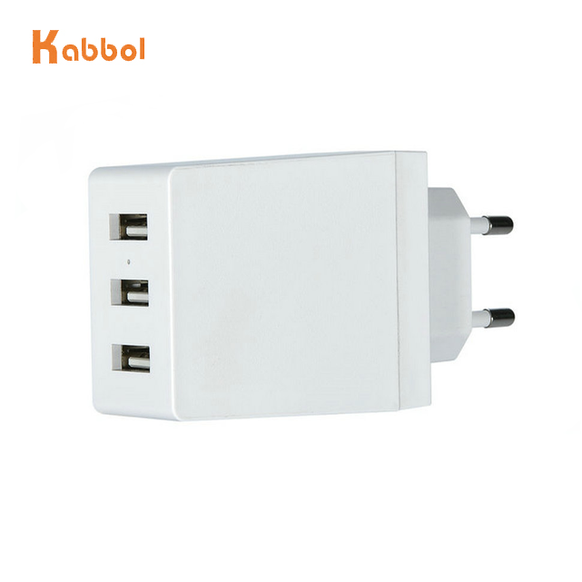 Cepat Smart 3 Port USB Dinding Charger Kecepatan Tinggi US/EU/UK Plug Perjalanan Usb Apple Wall Charger