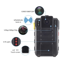 4G Wifi Gps Bluetooth 1080P Politie Body Gedragen Video Camera 2.8 Inch Touch Screen <span class=keywords><strong>Software</strong></span> App Politie Body camera
