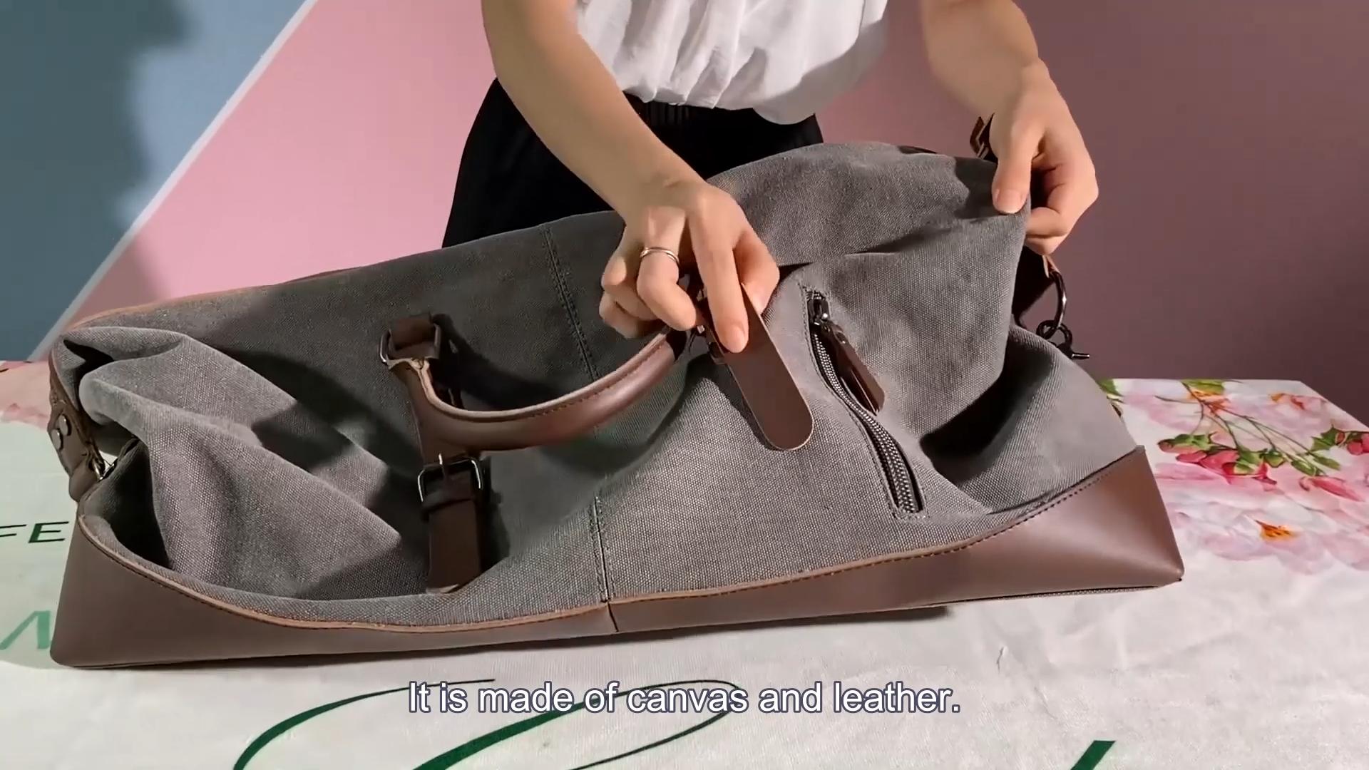 Новейшая дизайнерская Большая вместительная сумка для путешествий, спортивная сумка для мужчин, ручная сумка
