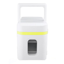 DC12V/AC220V 10L автомобильные холодильники с низким уровнем шума, автомобильные мини холодильники с морозильной камерой, охлаждающая нагревател...(Китай)