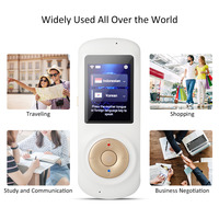 Portable Smart Voice Two Way Translator 2.4 inches Screen 42 Multilingual Speech translator Real Time WIFI Pocket Interpreter