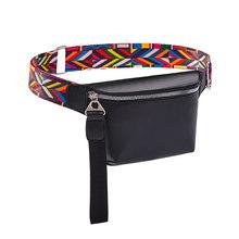 Поясная сумка, роскошная дизайнерская нагрудная сумка, кожаная женская поясная сумка, модная сумка через плечо для женщин, кошелек для дево...(Китай)