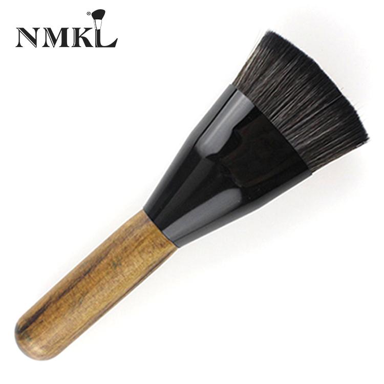 Mermer saç fırçası fırça vakıf mavi elektrikli makyaj taklidi fırçalama kürek ahşap özel büyük karıştırma setleri tutucu seti