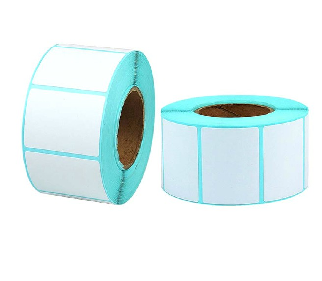 China factory supplier custom printing thermal label sticker roll for zebra printer