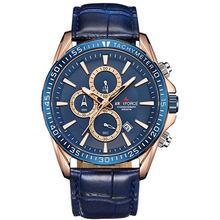 Мужские наручные часы ARMIFORCE, брендовые роскошные часы с кожаным ремешком, водонепроницаемые кварцевые часы для мужчин(Китай)