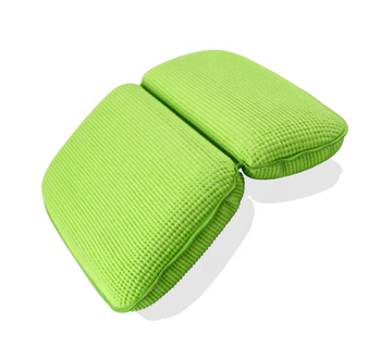 Ecofriendly bath pillow pvc sucking anti slip bathtub pillow