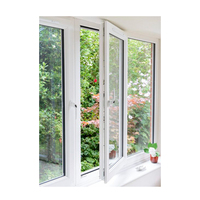 Aluminum Frame Windows Doors Double Glazed Frenche Casement Window Philippines Style