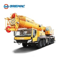 Chinese 130 ton Mobile Crane QY130K with 6 section boom
