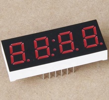 Nummer Toepassing En Blauwe Kleur 0.36 Inch 7 Segment Led Display 4 Digit