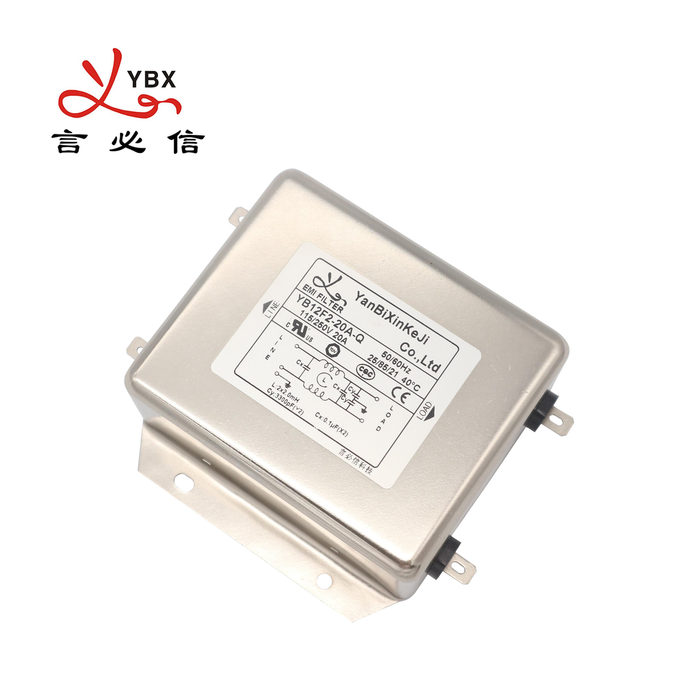 Yanbixin YX84G5 삼상 50A AC 소음 RFI 필터 인버터 및 컨버터