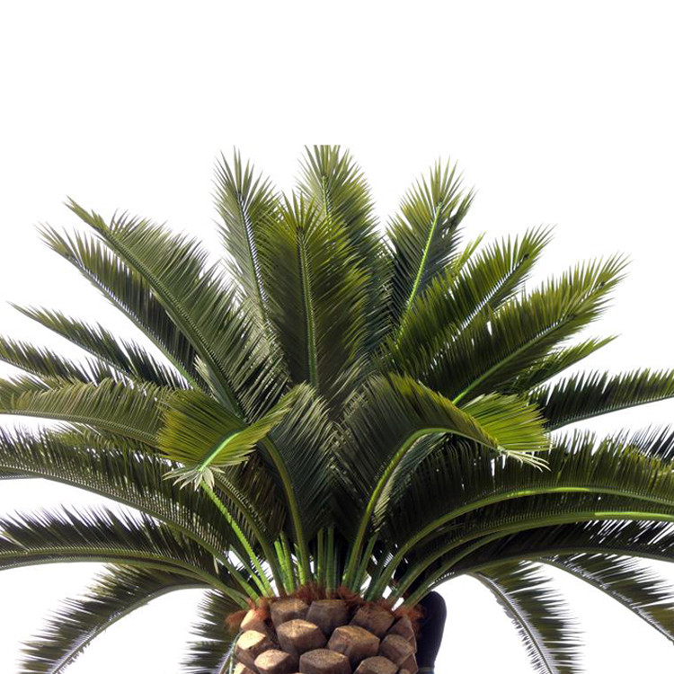 Outdoor Anti-ultraviolet Long Life Artificial Evergreen Plants Trees Decoration Artificial Date Palm Tree