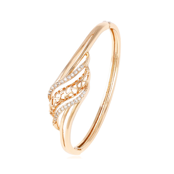 50947 Xuping fashion design 18K gold color popular bangle with stone
