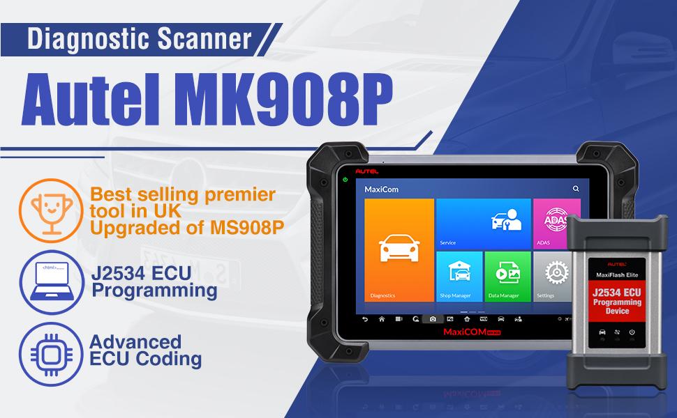 Autel Maxicom Mk908p Updated Autel Maxisys Pro Ms908p Vehicle Diagnostic  Machine - Buy Vehicle Diagnostic Machine,Diagnostic Tool For All Cars,Autel  Maxisys Pro Ms908p Product on Alibaba.com