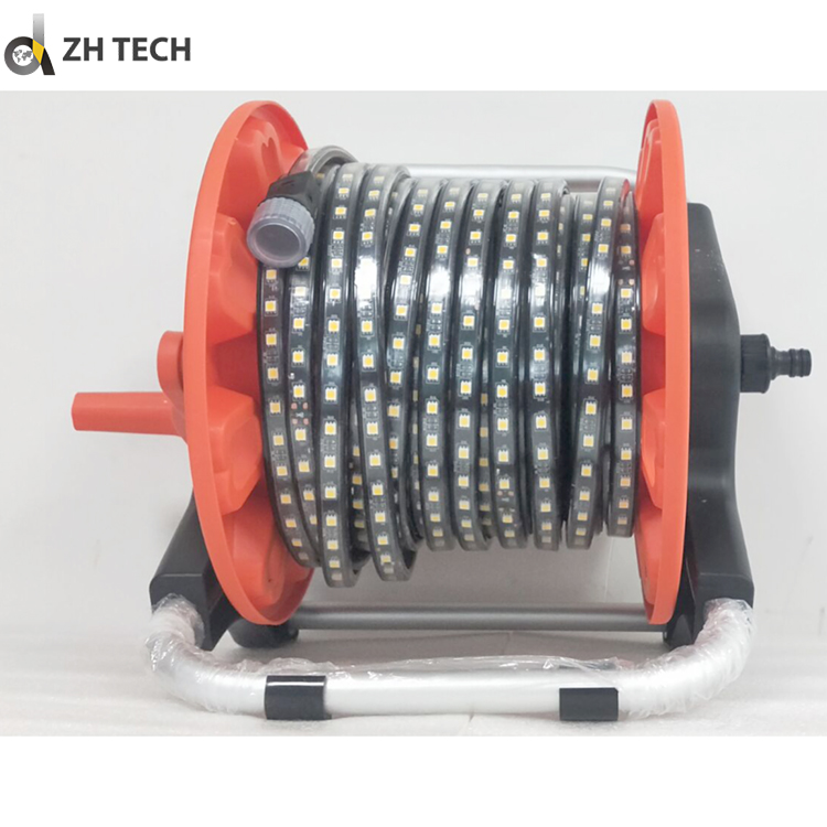 Customized 5050 5000K 14000lm high voltage led strip light for construction site lighting