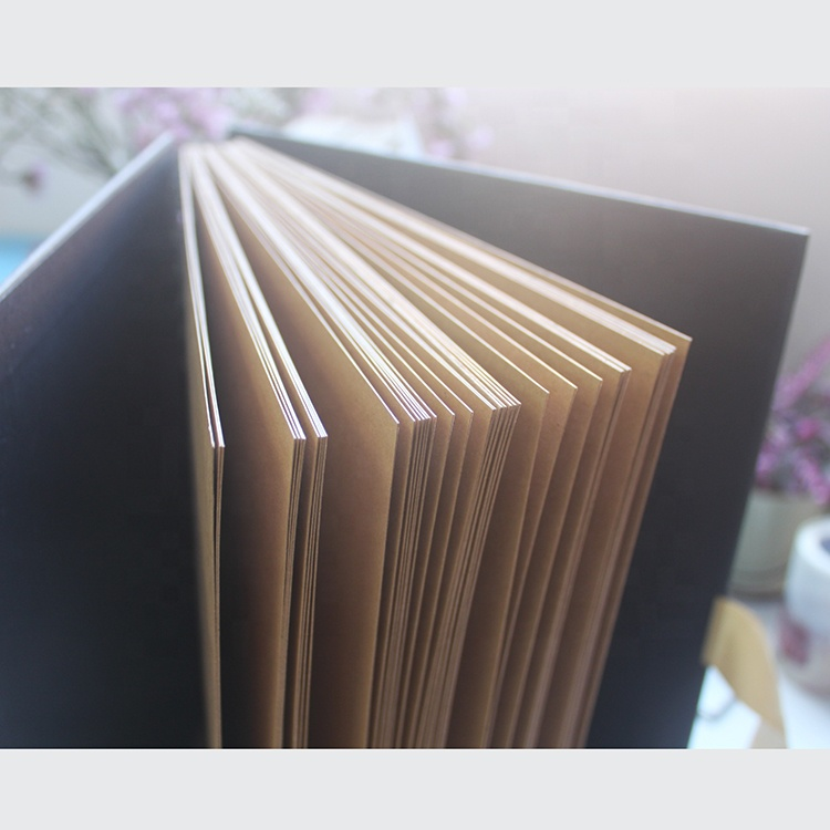 China Photo Album Fancy Scrapbook with 40 Sheets Kraft Pages