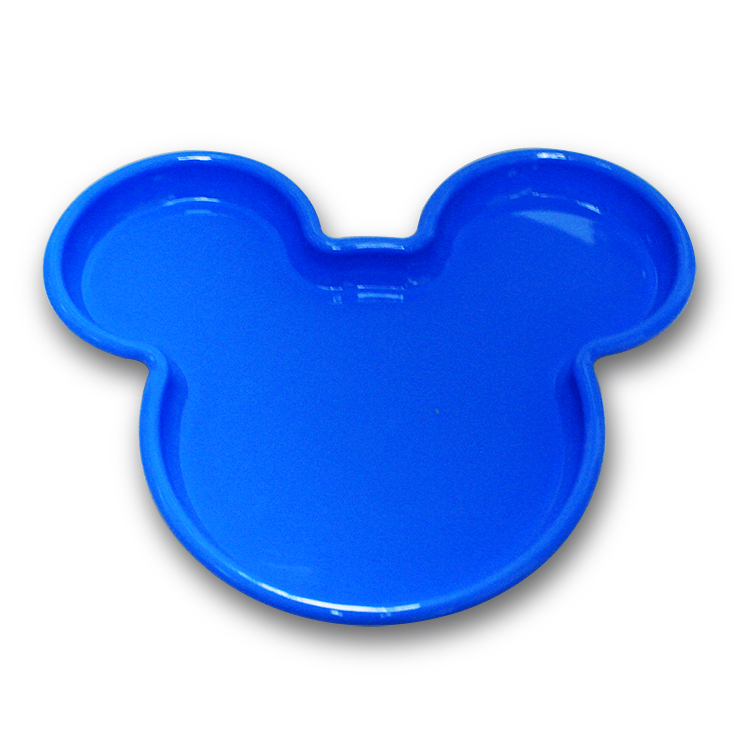 <strong>Plastic</strong> Mickey Shape <strong>Kid</strong> <strong>Plate</strong>