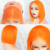 BC Blonde Bob Lace Front Human Hair Wigs Straight Brazilian Remy Hair Yellow Red Pink Blue Orange Green 13x4 Transparent Lace