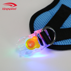 Water Resistant Flashing Light Adjustable No Pull LED Pet Dog Harness Vest for Small Medium Large