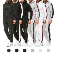 Free Samples Men'S Jogging Sweat Sports Tracksuit Custom Logo Sweatsuit Wear Mens Gym Sport Set Track Suits For Men