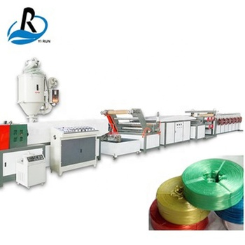 Raffia extrusion line pp agriculture packing baler rope plastic twine making machine
