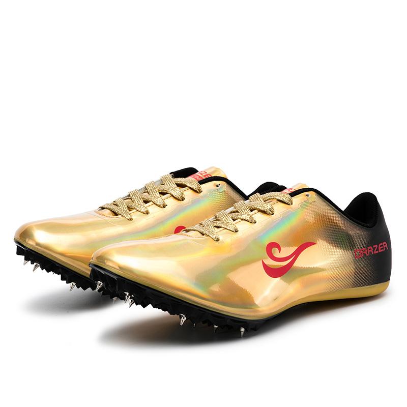 Chaussures d'athlétisme professionnelles pour hommes, baskets de course à pointes puissantes
