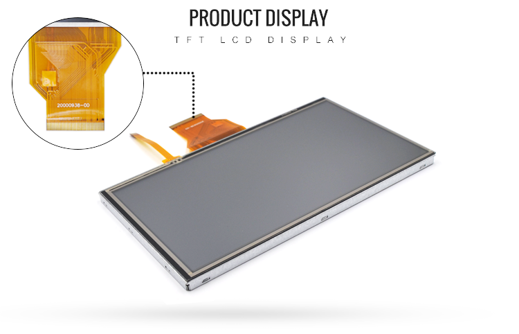7 inch 800x480 TFT LCD Display Screen