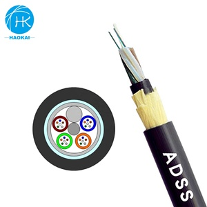 China Wholesale All Dielectric Loose Tube Adss Fiber Optical Cable