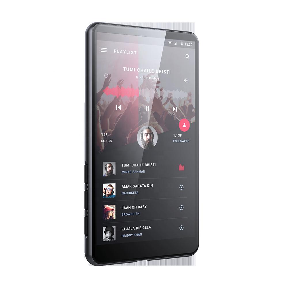 HBNKH H-R900 8GB mp3 wifi versão android multimídia mp5 jogador do jogo com a instalação do APLICATIVO personalizado e tipo-c interface