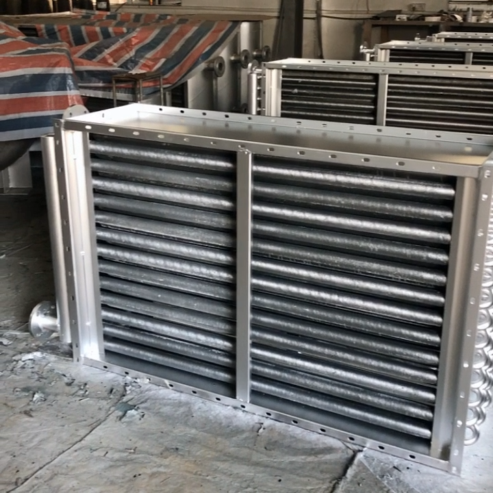 Stainless Steel Spiral Water to Air Cooling Heat Exchanger  for Dryers
