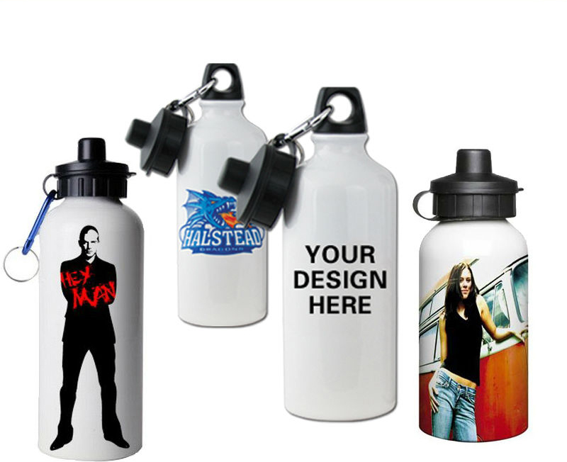 Free <strong>Sample</strong> 400/500/600ML Metal Water Bottle Custom Printing Aluminum Sports Bottle