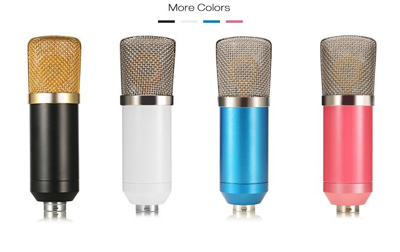 Açık ayarlanabilir kondenser mikrofon akustik gitar